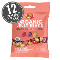 Organic Smoothie Jelly Beans from the makers of Jelly Belly - 1.9 oz bag, 12-Count Case