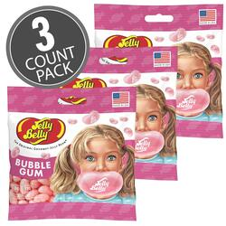 Bubble Gum Jelly Beans - 3.5 oz Bag - 3 Pack