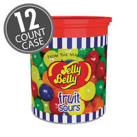 Fruit Sours - 5.7 oz Clear Can, 12 Count Case