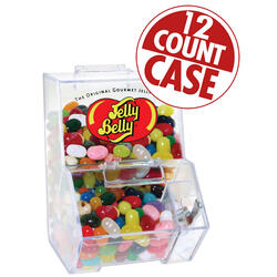 Jelly Belly Mini Bean Bin with 3.5 oz of Assorted Jelly Beans - 12-Count Case