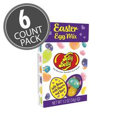 Jelly Belly Easter Egg Mix Flip Top Box, 1.2 oz - 6 Pack