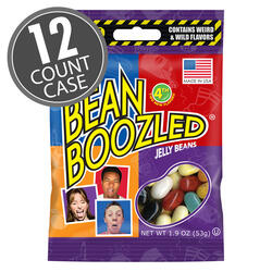 BeanBoozled Jelly Beans 1.9 oz bag (4th edition) 12-Count Case
