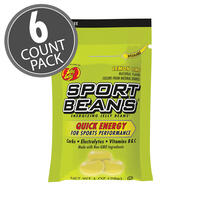 Sport Beans® Jelly Beans Lemon Lime 6-Count Pack