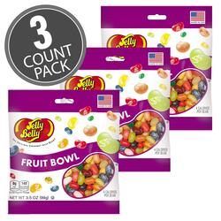 Fruit Bowl Jelly Beans - 3.5 oz Bag - 3 Pack
