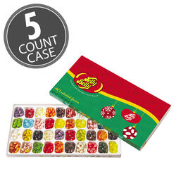 Jelly Belly 40-Flavor Christmas Gift Box - 5-Count Case