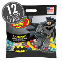 Batman™ Jelly Beans 2.8 oz Grab & Go® Bag - 12-Count Case