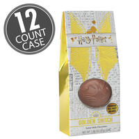 Harry Potter™ Golden Snitch Chocolate - 1.6 oz Gable Box - 12 Count Case