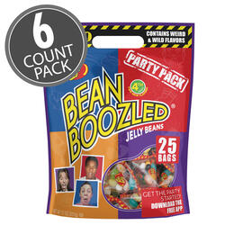 BeanBoozled Party Pack 7.1 oz Pouch Bag (4th Edition), 6-Count Case