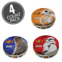 STAR WARS™ Jelly Beans Tin - 1 oz Tin - 4 Count Pack