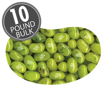 Juicy Pear Jelly Beans - 10 lbs bulk