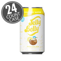 Jelly Belly Piña Colada Sparkling Water - 24 Count Case