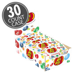 Jelly Belly 20 Flavor Assorted Jelly Beans 1 oz Bag - 30-Count Case