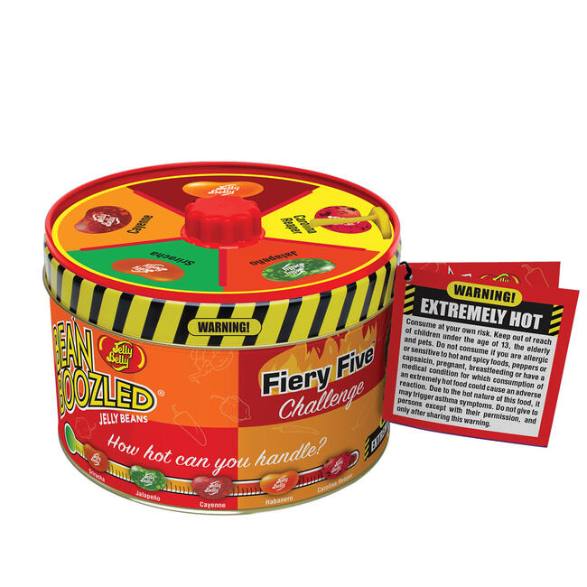 BeanBoozled Fiery Five Spinner Tin