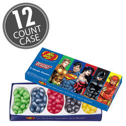 Justice League Jelly Beans 4.25 oz Gift Box 12-Count Case