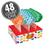 Jelly Belly Lollipops 48-Count Case - Berry Blue, Tangerine & Green Apple-thumbnail-1