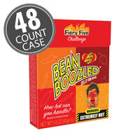 BeanBoozled Fiery Five 1.6 oz Flip Top Box -  48-Count Case