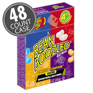 BeanBoozled Jelly Beans - 1.6 oz boxes (4th edition) 48-Count Case