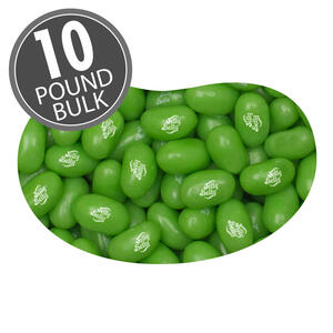 Sour Apple Jelly Beans - 10 lbs bulk