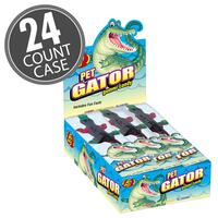Gummi Pet Gators - 3 oz - 24 Count Case