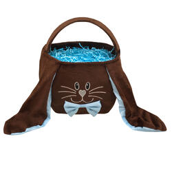 Easter Bunny Blue Bow Bag
