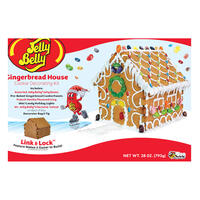 Jelly Belly Gingerbread House Decorating Kit