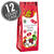 Christmas Chocolate Dutch Mints - 6 oz Gift Bags - 12 Count Case-thumbnail-1