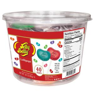 Jelly Belly Lollipop Tub