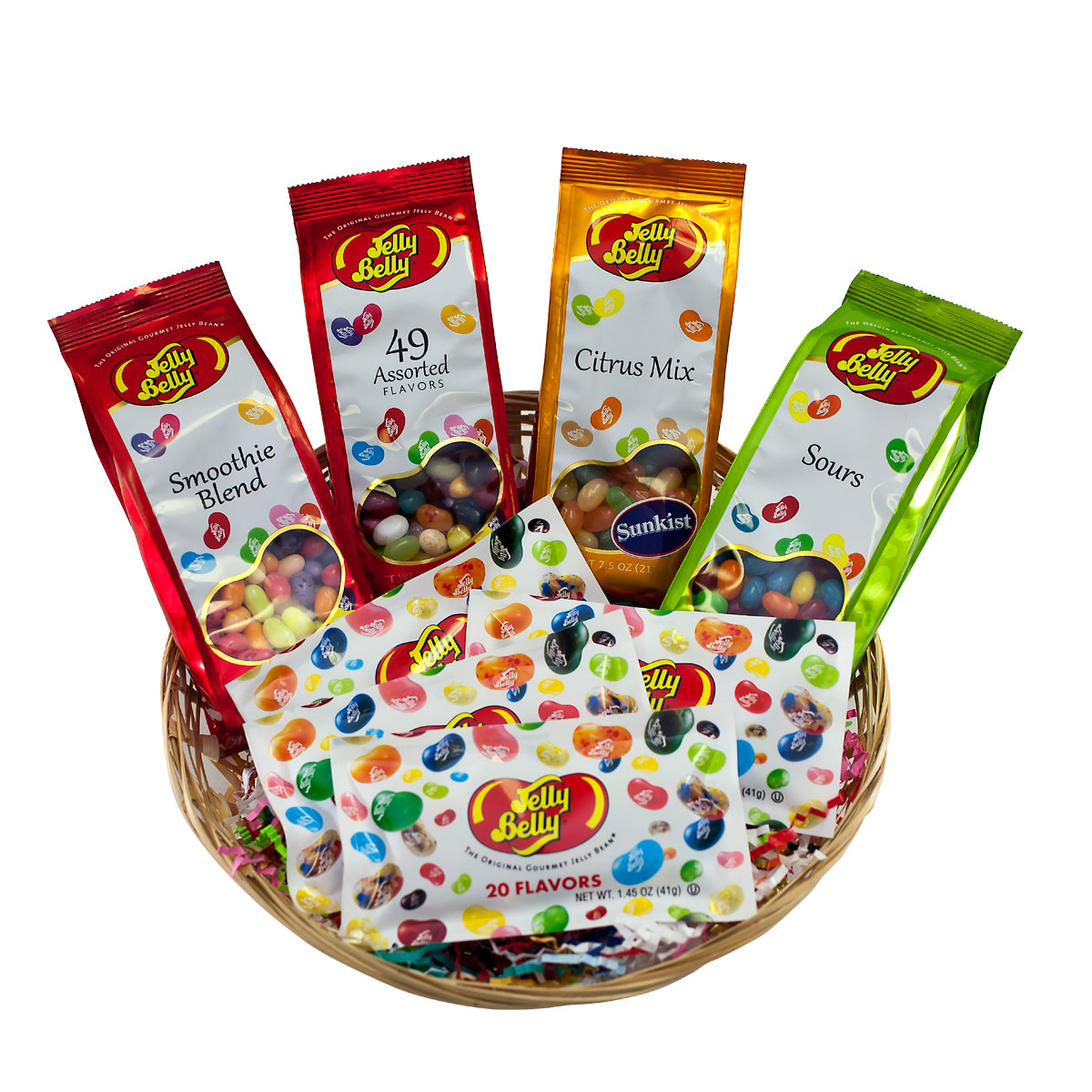 Jelly belly easter gift baskets jelly belly candy company bean blast basket negle Gallery