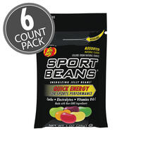 Sport Beans® Jelly Beans Assorted Flavors 6-Count Pack