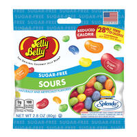 Sugar-Free Sours Jelly Beans - 2.8 oz Bag
