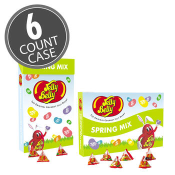 Jelly Belly 1.31 LB Jumbo Easter Box, 6-Count Case