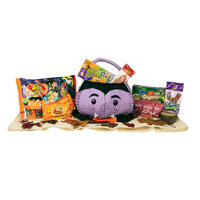 Dracula Halloween Goody Basket (Limited Quantities)