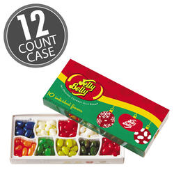 10-Flavor Jelly Bean Christmas Gift Box- 12-Count Case