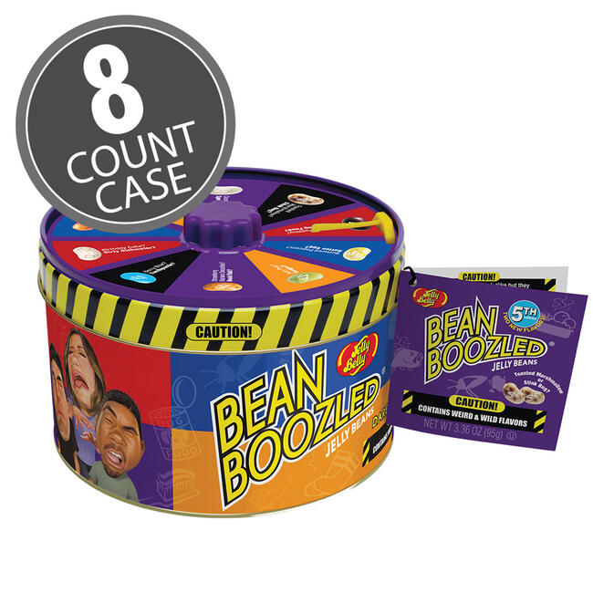 BeanBoozled Spinner Tin Jelly Bean (5th edition) 8-Count Case