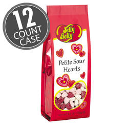 Petite Sour Hearts - 6.2 oz Gift Bags - 12 Count Case