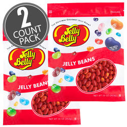 Sizzling Cinnamon Jelly Beans - 16 oz Re-Sealable Bag - 2 Pack