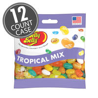 Tropical Mix Jelly Beans 3.5 oz Grab & Go® Bag - 12 Count Case
