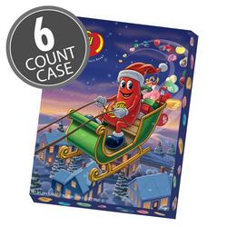 Jelly Bean Count-Down to Christmas Advent Calendar - 6 Count Case