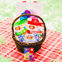 Delightful Jelly Belly Treats Basket