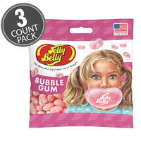 Bubble Gum Jelly Beans 3.5 oz Grab & Go® Bag - 3 Pack