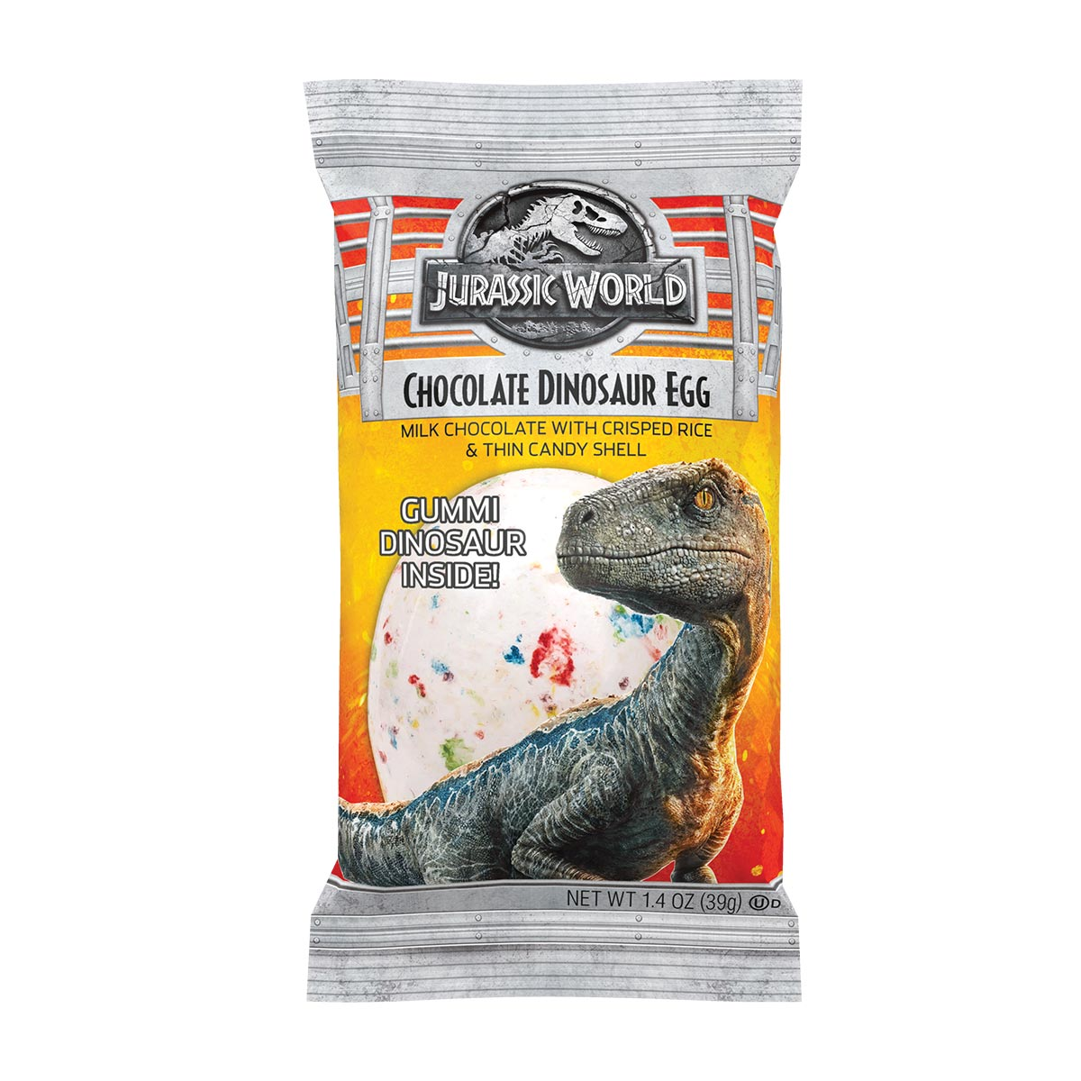 Jurassic World 2 Chocolate Dinosaur Egg 1.4 oz