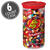 49 Assorted Jelly Bean Flavors - 3 lb Clear Can - 6 Count Case-thumbnail-1