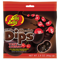 Jelly Bean Chocolate Dips® - Very Cherry - 2.8 oz bag