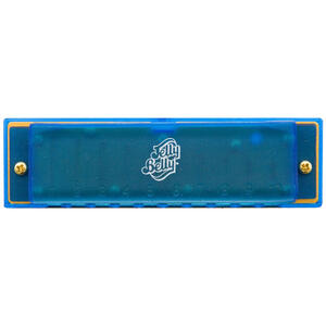 Jelly Belly Hohner brand Harmonica - Blue