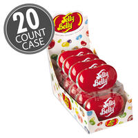 20 Assorted Jelly Bean Flavors Bean Tin  1.7 oz - 20 Count Case