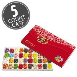 Jelly Belly 40-Flavor Valentine's Day Gift Box - 5-Count Case