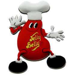 Mr. Jelly Belly Magnet