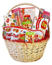 Jelly Belly gift baskets