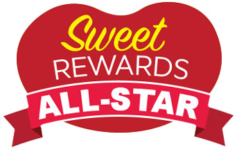 Sweet Rewards All-Star Tier Ribbon
