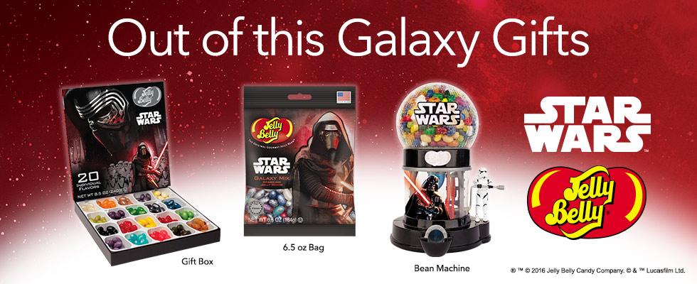 Out of this Galaxy Gifts, Star Wars candies and products